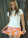 Private School Jewel pics, colorful skirt