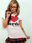 Spunky Angels pics, Natalia Kalashnikov I love nerds